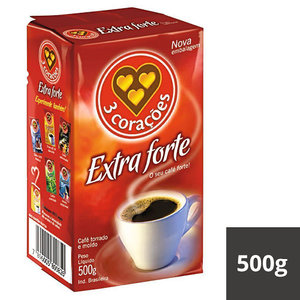 3 Coracoes Cafe 3Coracoes Extra Forte 500g