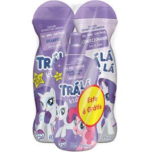 Phisalia Kit Oleo Argan Shampoo Condicionador Creme Pentear