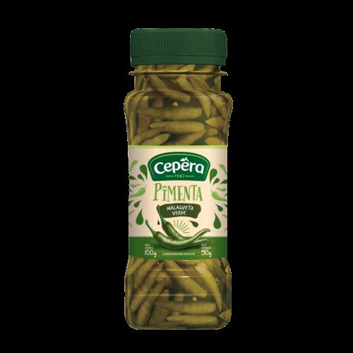 Cepera Pimenta Malagueta Verde Cepera 50g