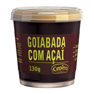 Cepera Goiabada Cremosa c Acai Cepera vd 130g