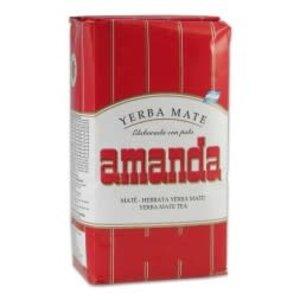 Amanda Erva Mate Amanda Tradicional Vermelho 500g