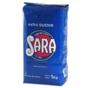 Sara Yerba Mate Sara Extra Suave Azul 1kg
