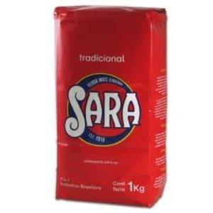 Sara Yerba Mate SaraTradicional Roja 1kg