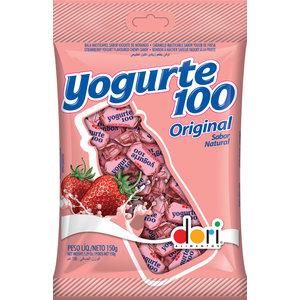 Dori Chewy Candy  Yogurte100 Morango Dori 150g