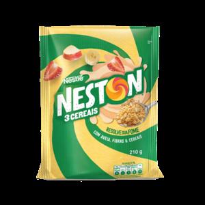Nestle Neston 3 Cereais Sache Nestle 210g