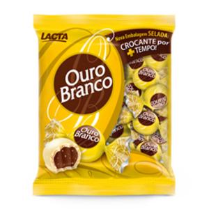 Lacta Chocolate Bombom Ouro Branco Lacta 1kg