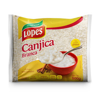 Canjica de Milho Branca Lopes 500g