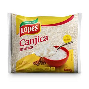 Lopes Canjica de Milho Branca Lopes 500g
