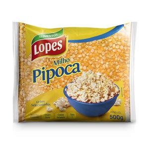 Lopes Milho para Pipoca Lopes 500g