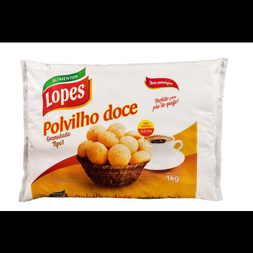 Lopes Polvilho Doce Granulado Lopes 1kg