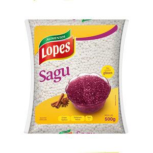 Lopes Sagu de Mandioca Lopes 500g