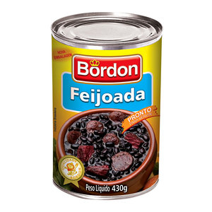 Bordon Feijoada Bordon lata 430g