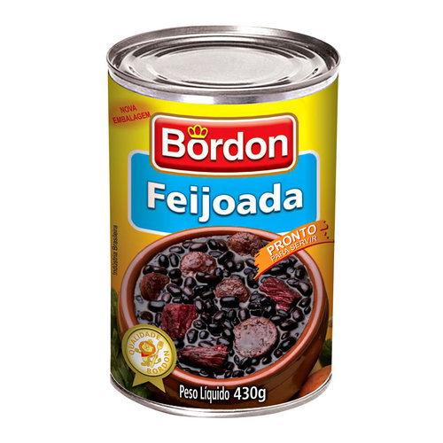 Bordon Feijoada Bordon lata 430g