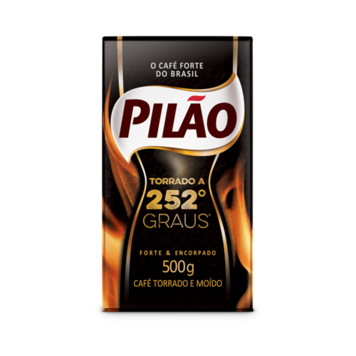 Pilao Cafe Torrada Moido a vacou 252 Graus Pilao 500g