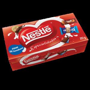 Nestle Caixa Bombom Nestle Especialidades 251g