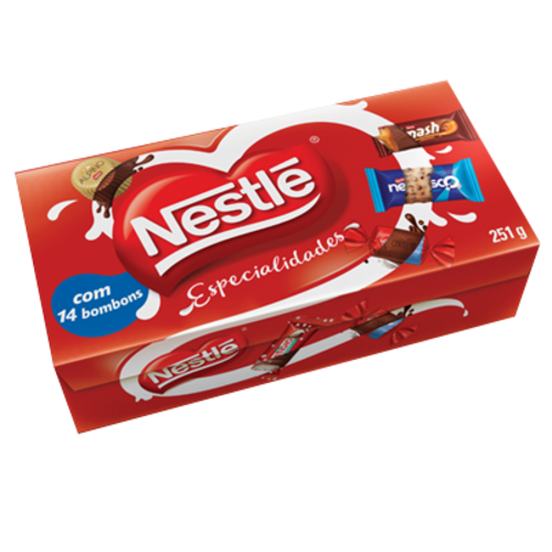 Nestle Caixa Bombom Nestle Especialideds 251g