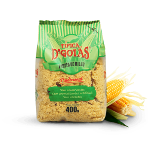 Dgoias Farofa de Milho Tradicional Dgoias 400g