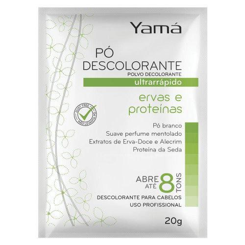 Yama Descolorante Erva e Proteinas Yama 20g