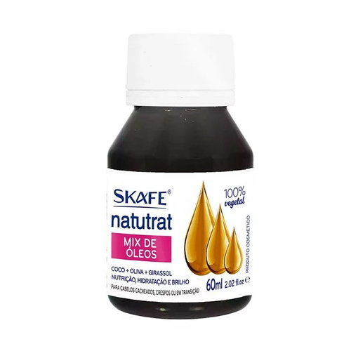 Skafe Óleo Capilar Mix de Oleos Natutrat 60ml