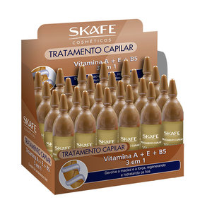 Skafe Ampola SKAFE 10ml Mix VITAMINAS A+E+B5 1und