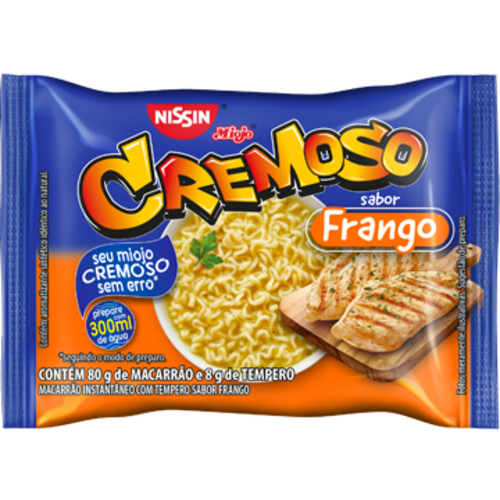 Nissin Nissin Miojo Cremoso sabor Frango 88g