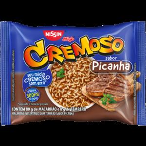 Nissin Nissin Miojo Cremoso sabor Picanha 88g