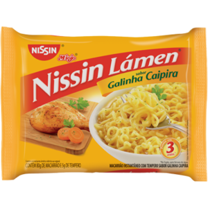 Nissin Nissin Miojo Lámen Galinha Caipira 85g