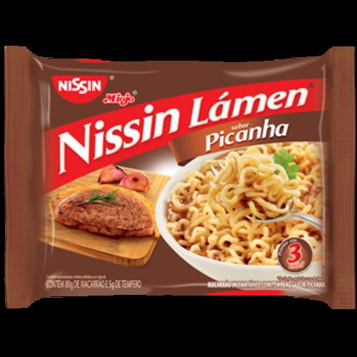 Nissin Nissin Miojo Lámen Picanha 85g