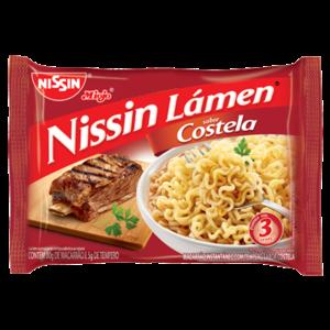 Nissin Nissin Miojo Lámen Costela 85g