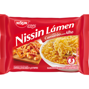 Nissin Nissin Miojo Lámen Camarão com Alho 85g