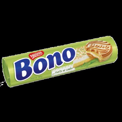 Nestle Biscoito Bono Recheado de torta de Limão 140g