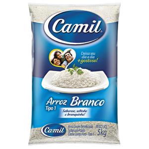 Camil Arroz  Agulinha Camil 5kg