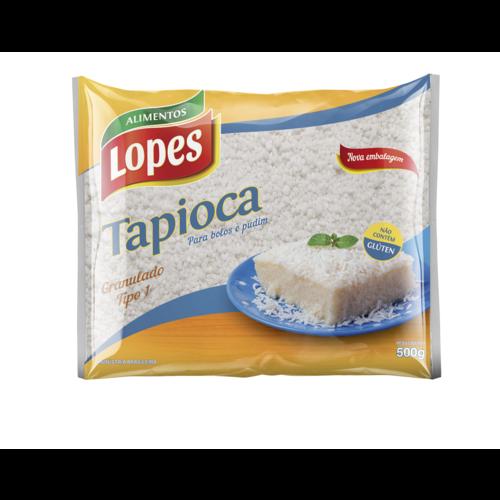 Lopes Tapioca Granulado Lopes 500g