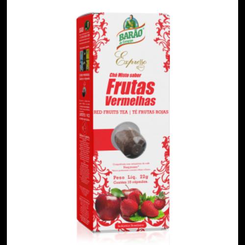 Barao Rode Vruchten Thee Expresso cap Barão 220g