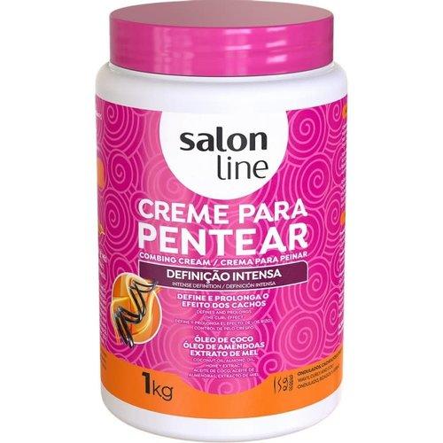 Salon Line Creme Pentear Definicao Intensa Salon Line 1000g