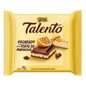 Talento Tablete Talento Recheado Maracujá 90g