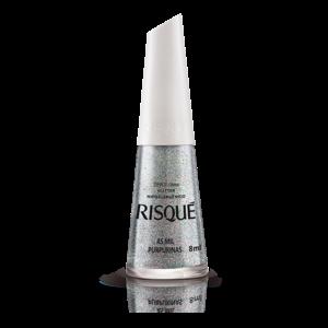 Risque Esmalte Risque Glitter As Mil Purpurinas 8ml