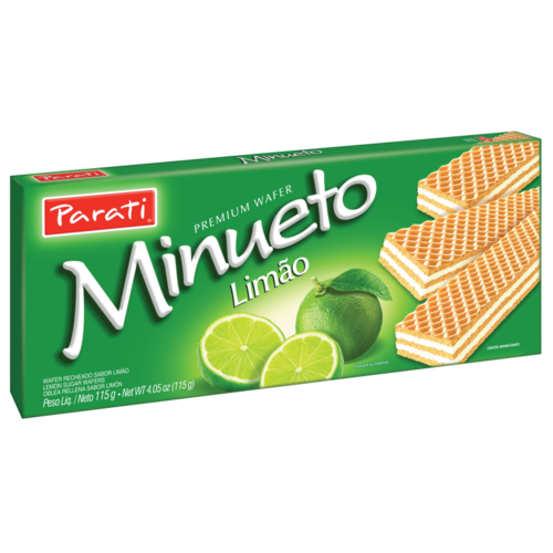 Parati Wafer Limão Minueto 115g