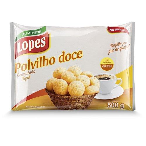 Lopes Polvilho Doce Granulado Lopes 500g