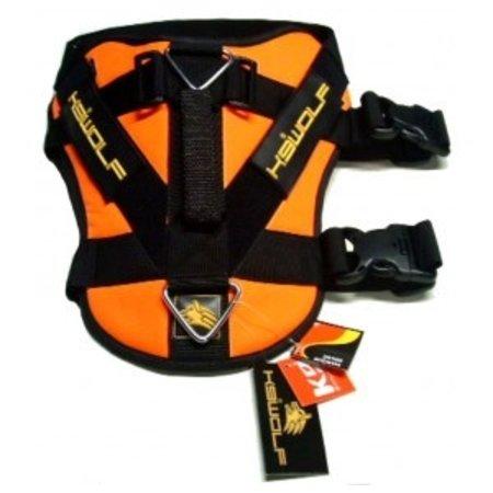 K9-evolution Politie K9 Harnas MK-PRO (oranje)