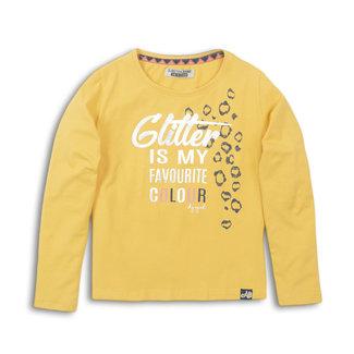 DJ Dutch Shirt Yellow '' glitter ''