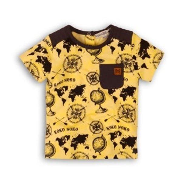 T-shirt World Yellow + AOP Black