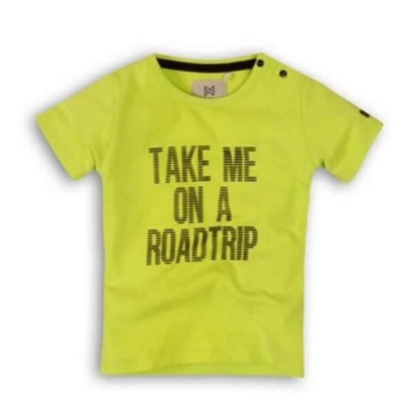T-shirt Roadtrip Neon Lime