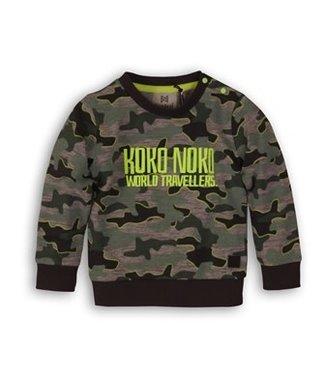 Koko Noko Sweater World Army