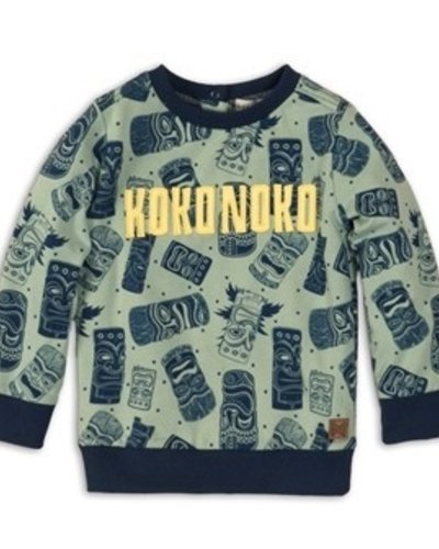Koko Noko Sweater Masker Faded Green
