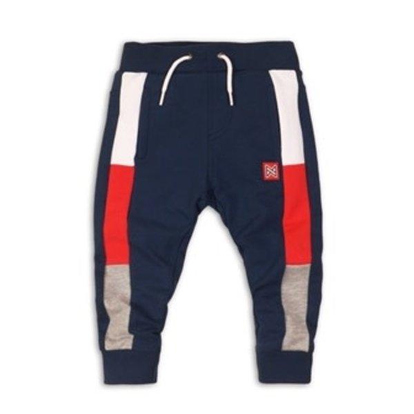 Joggingbroek Navy,Red and Grey