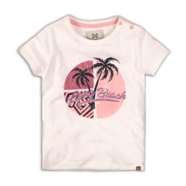 T-shirt White Beach