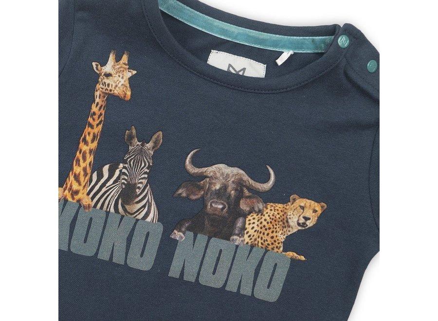 T-shirt Jungle Navy