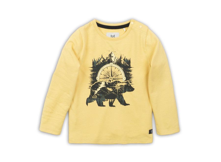 T-shirt Bear Yellow