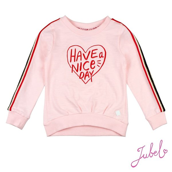 Sweater Roze - Have A Nice Day